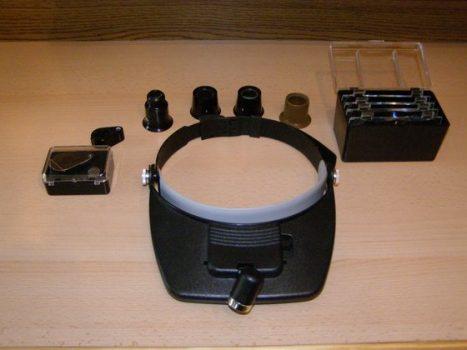 Ipari sztereó mikroszkóp az órásműhelyben