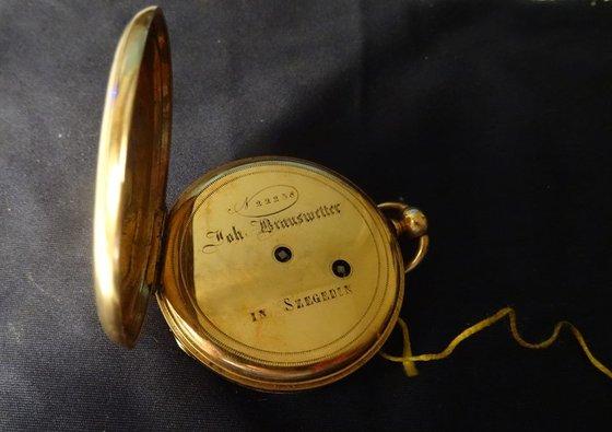 Egy Brauswetter János Szegeden zsebóra felújítása Watchmaker
