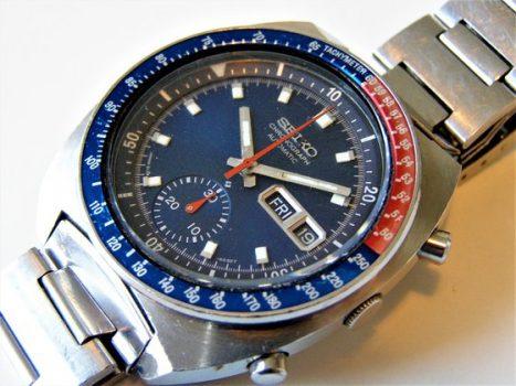 Seiko Speed Timer (6139B) kronográf teljes felújítása