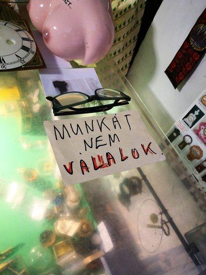 Egy ritkán látható felirat