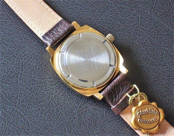 Egy eredeti állapotban megmaradt Glashütte Chronometer (fotó forrása: glashuettenuhren.de)
